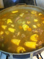 Sancocho is one of the dishes being sold at Picalonga