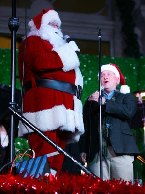 The annual Christmas lighting will take place at the Canal Market this year.