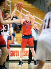 Haley Still (11) and the New Oxford Colonials have one of the top teams in District 3 Class 5A.