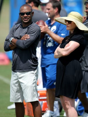Having spent the past four years with the Colts, Jimmy Raye III could have a head start in interviewing for the general manager job.