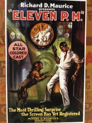 """The movie poster for """"Eleven P.M."""""""
