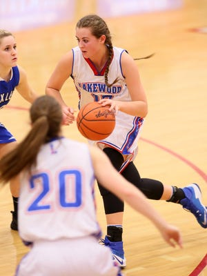 Lakewood senior Courtney Vierstra was named Tuesday to the Division II All-Ohio special mention list.