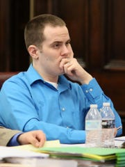Nathan D'Ostroph, 24, is being tried for the murder of a seven-month-old who he was babysitting.