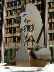 Picasso sculpture as it approaches its 50th year.