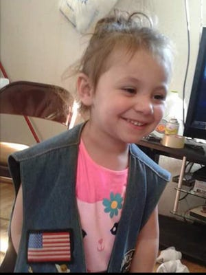 """She lived a good life for as long as she was here with us,"" said Mikel Wayland of his niece, Kelly Williams, 3. Kelly was shot and killed by her father, Frankie, who was Wayland's brother."