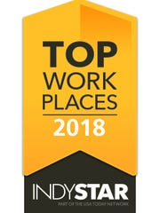 Top Workplaces logo.