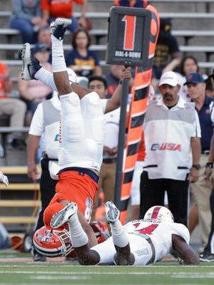 UTEP battled defending conference champions Western Kentucky to a 15-14 loss Saturday night at the Sun Bowl.