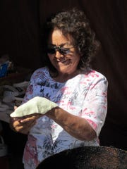 The art of making fry bread will be on display at Apache Jii.
