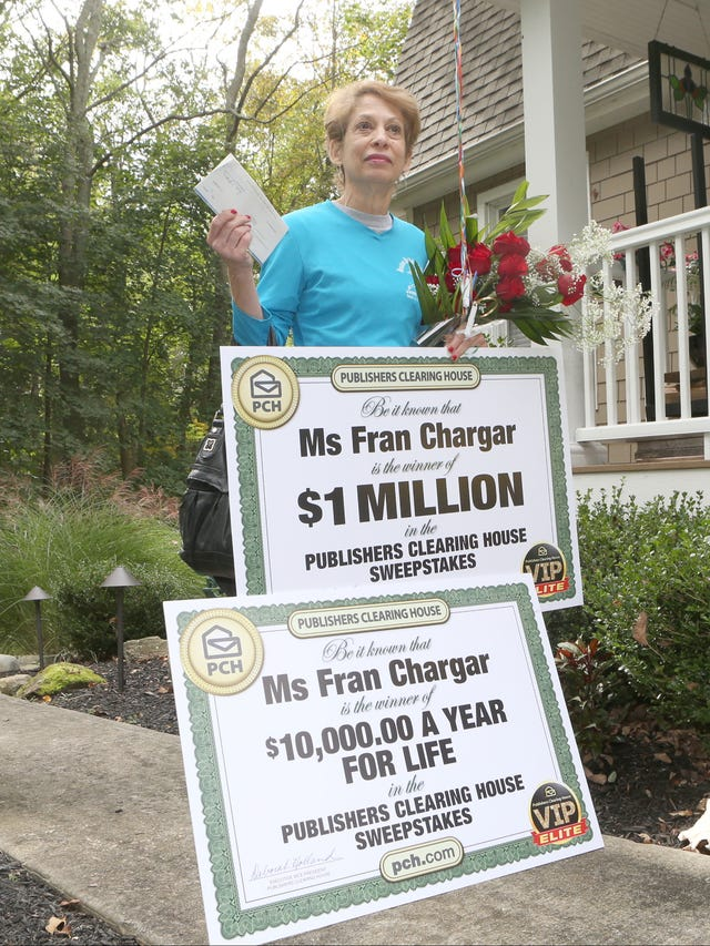 Rockland woman wins $1 million Publishers Clearing House prize