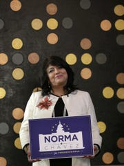 Democrat Norma Chávez filed her paperwork Monday to