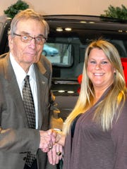Ed Pobur has been selling Cadillacs for 50 years. He