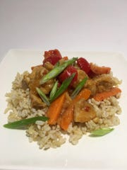 Spicy Orange Chicken Stir-fry gets a kick from chili paste