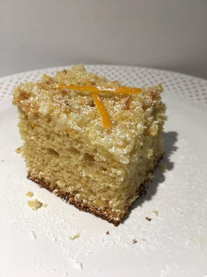 Orange Crumb Coffee Cake