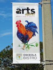 Arts District banners mark a special area in Downtown