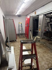 Installation of the first two robots is progressing and milking will soon begin.