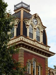 The Coshocton County Courthouse.