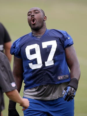 Arthur Jones, whom the Colts dished out a five-year, $33 million deal to in the offseason, has only played in two games this season.