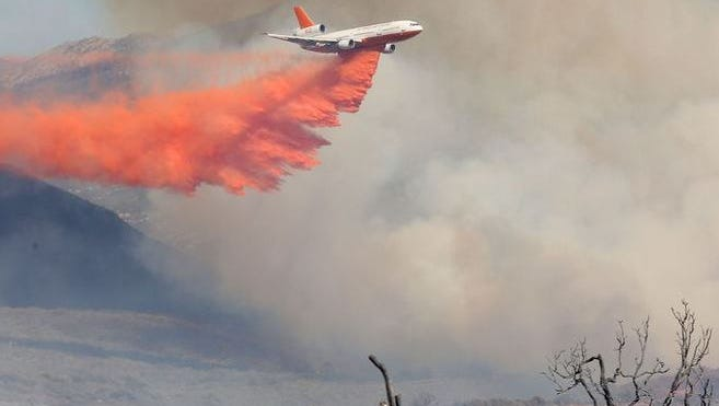 The Anza Fire was declared officially contained Saturday/
