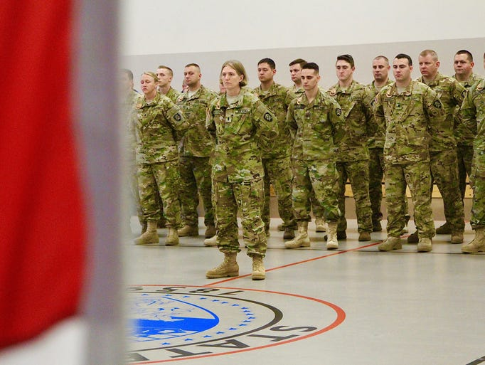 23 Citizen-Soldiers with Detachment 3, G Company (Golf),