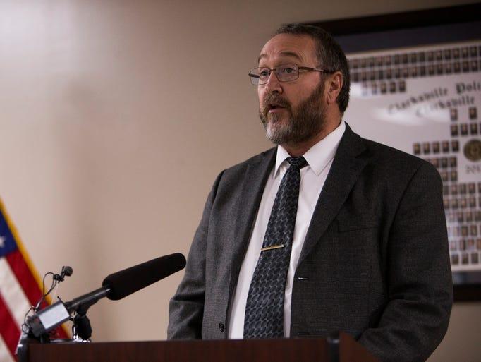 Sgt. Tim Finley, supervisor of homicide investigations,
