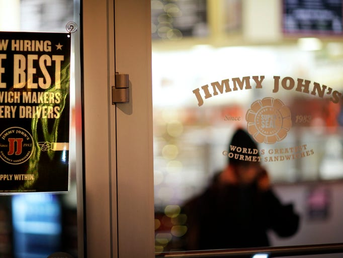 Jimmy John's is the 10th most expensed restaurants