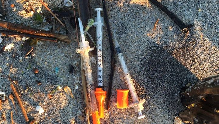 Jersey Shore beaches cleared of syringes that floated down from old sewer systems