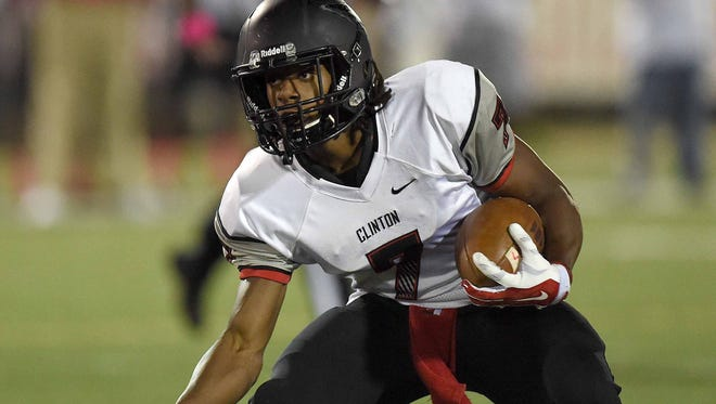 Clinton running back Darius Maberry is a significant commit for Southern Miss.