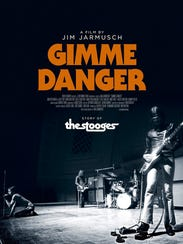"The poster for ""Gimme Danger: The Story of the Stooges."""