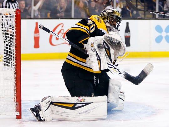 Bruins goalie Malcolm Subban is Predators defenseman P.K. Subban's younger brother.