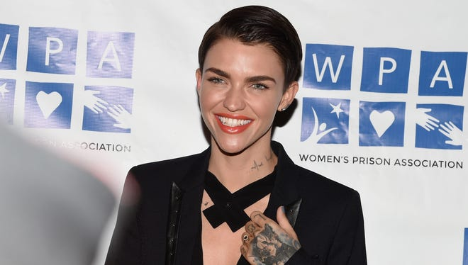 Actress Ruby Rose attends the 'Orange is the New Black' Season 3 screening benefiting the Women's Prison Association at The Ainsworth on June 12, 2015 in New York City.