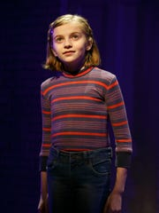 Carly Gold as 'Small Alison' in Fun Home as part of