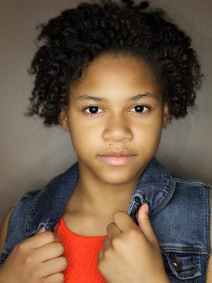 Mikquala Skelton stars as Annie in the Roxy Regional School of the Arts production of Annie Jr.