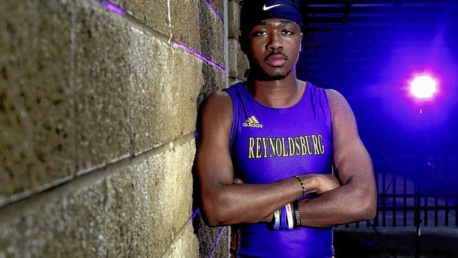 Senior sprinter Doniven Jackson of the Reynoldsburg boys track and field team was hoping to advance to the Division I state meet for the third consecutive season before spring sports were canceled because of the COVID-19 coronavirus pandemic.