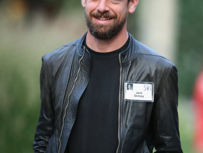 Twitter interim CEO Jack Dorsey