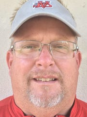Sebastian River girls weightlifting coach Pete DeLuke