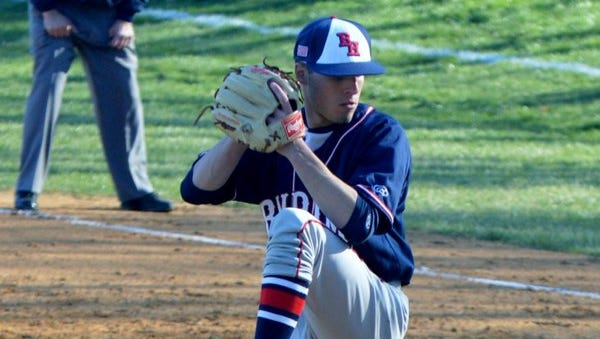 Byram Hills senior Anthony Russo is the Lohud Baseball Player of the Week for April 18-24.