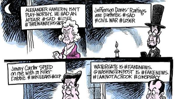 Marshall Ramsey cartoon