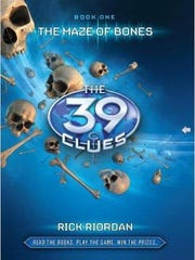 """Maze of Bones"" by Rick Riordan"