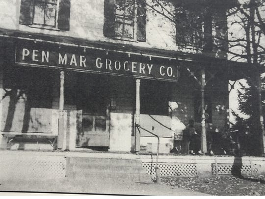 Scotland once had several stores, such as Pen Mar Grocery on Main Street.