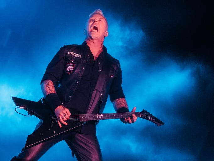 1. Metallica, July 12, Comerica Park: The touring Gods