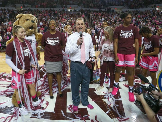 "Mississippi State coach Vic Schaefer said, ""we have"
