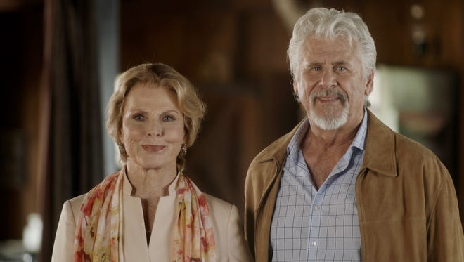 """Maureen, played by Mariette Hartley, and John, played by Barry Bostwick, arrive at a ranch in """"Three Days in August,"""" which was screened in Simi Valley on Friday."""