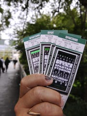 Tickets to this week's MSU-Maryland game are still
