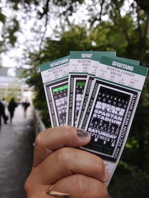 MSU football season ticket holders who don't want to attend games this season have three options: Turn them into a charitable contribution to the university, rollover to the 2021 season or get a refund.