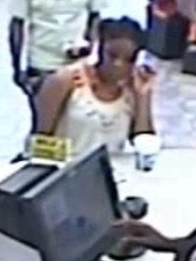 This suspect is wanted for using credit card information stolen from an Elmore County victim to buy cigarettes.