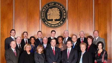 Oakland County Board of Commissioners.