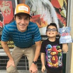 Port Huron's Adam Roach wins for kid with muscular dystrophy