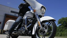 Harley-Davidson's recent-quarter sales and profit fell from a year ago, the company said Tuesday