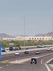 The Loop 101 and 64th Street westbound on ramp on May