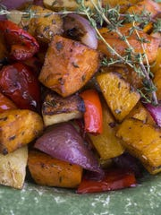 Roasted Autumn Vegetables from Robin Miller.